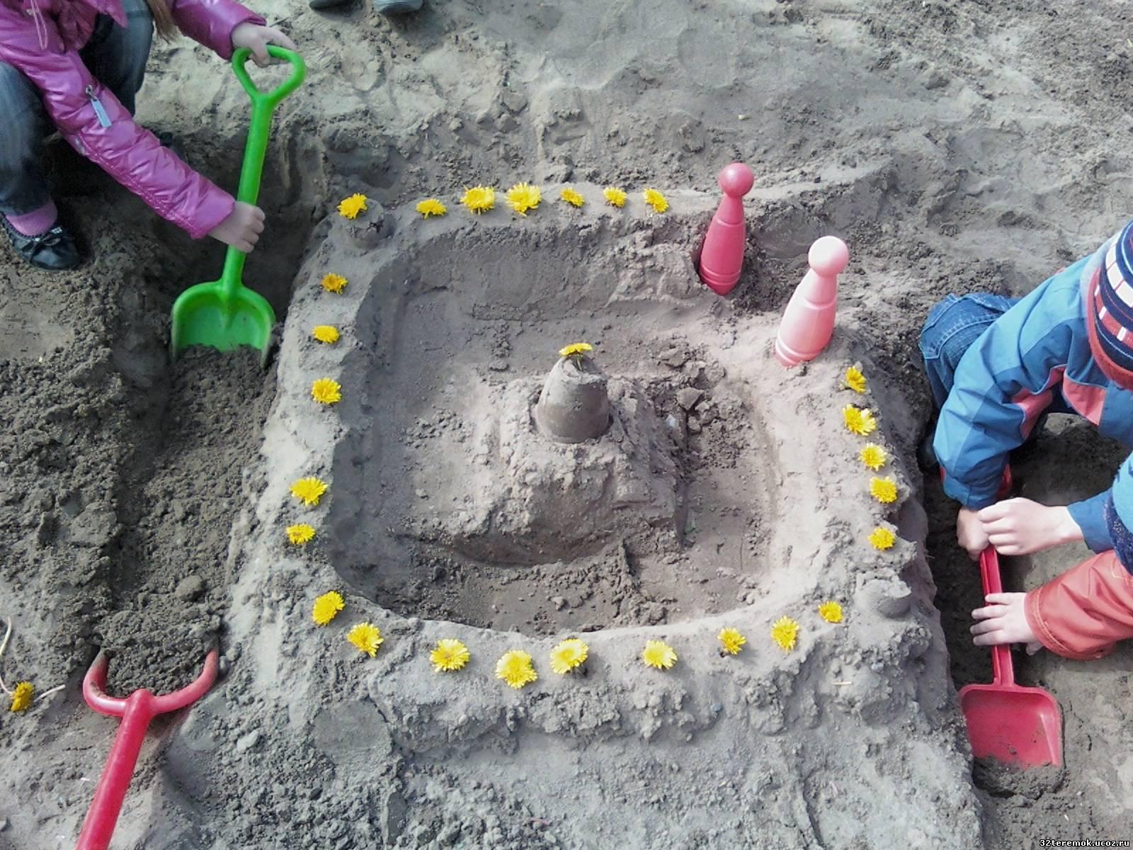 Поделки для детей из песка 53